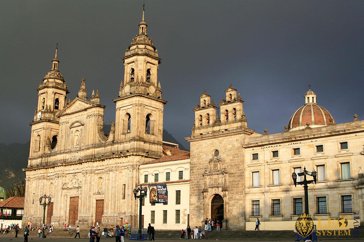 Iglesia de San Francisco in Bogota, Colombia
