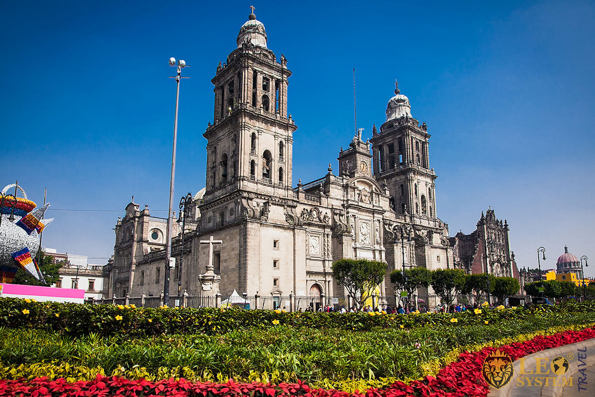 Zocalo - Plaza de la Constitution in Mexico City