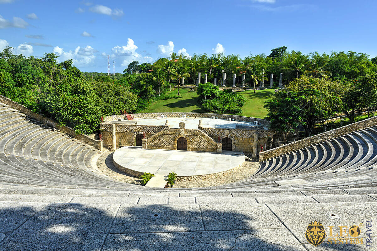 Amphitheater in village of Altos de Chavon - La Romana, Dominican Republic