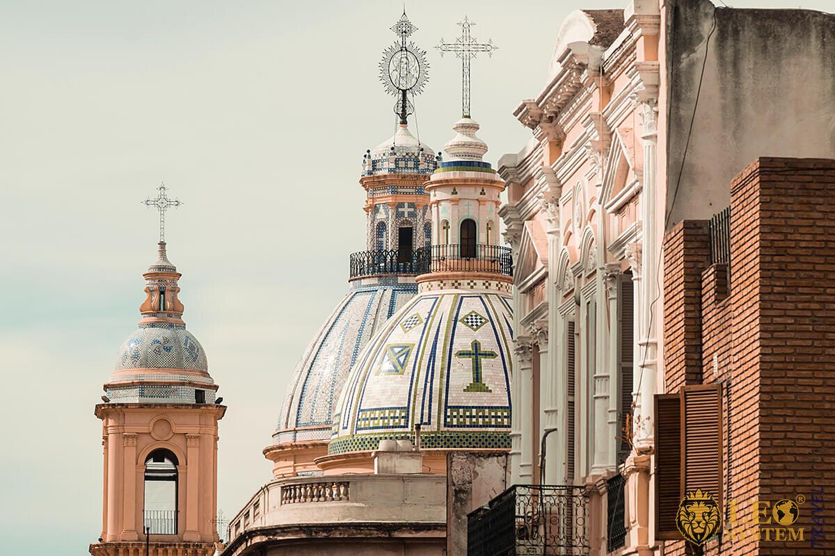 Landmark religious architecture Cordoba, Argentina