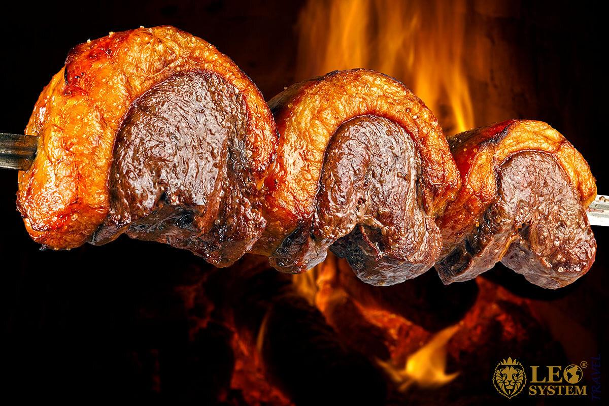 The Brazilian Churrasco - delicious food