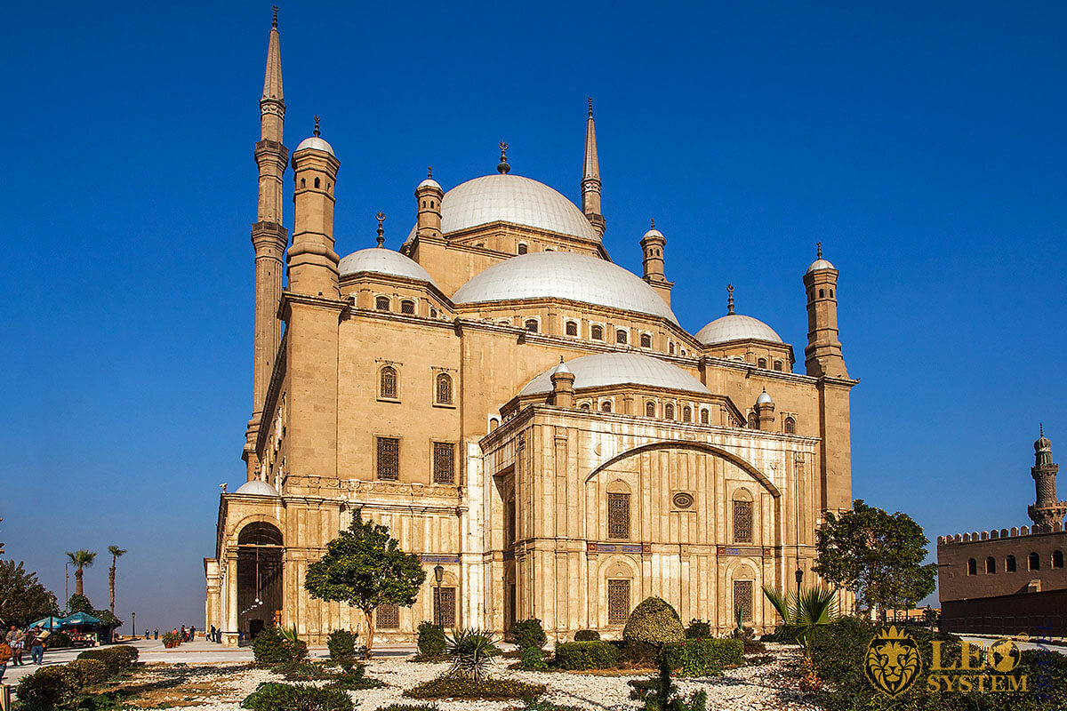 The Citadel - majestic structure and interesting attraction for tourists, Cairo