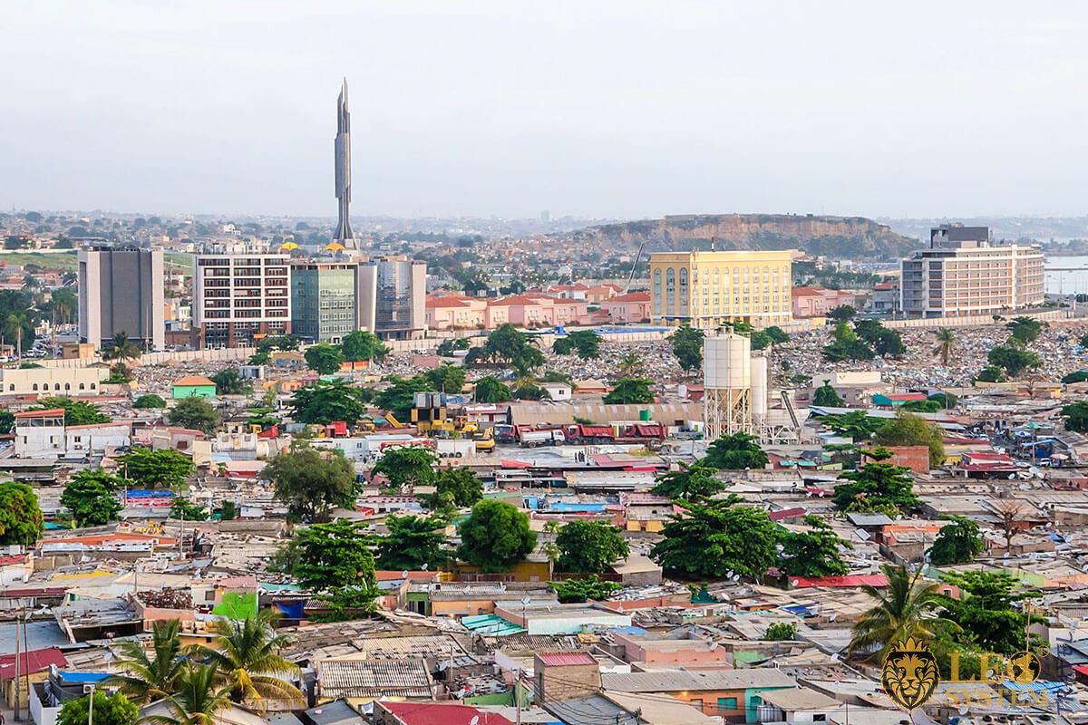 Agostinho Neto Mausoleum - Luanda city