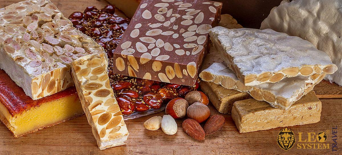 Image of Spanish sweets Turron