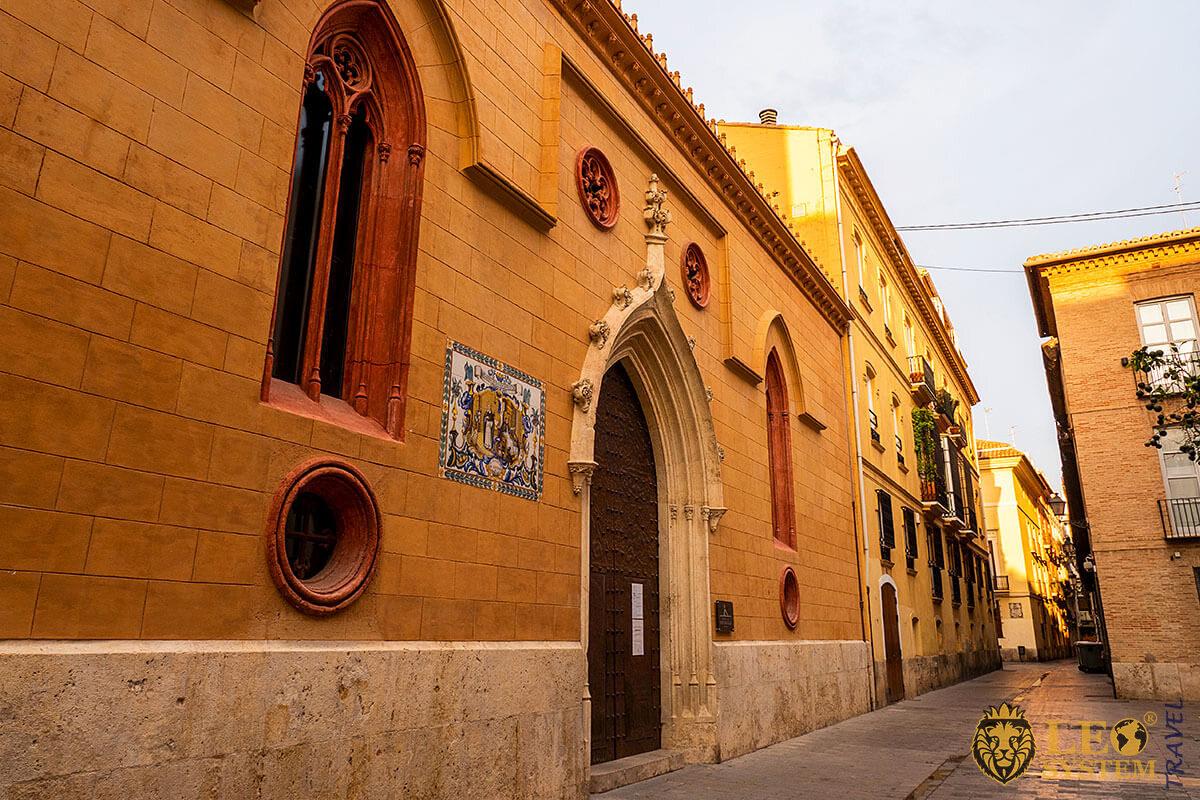 Church of San Nicolas - tourist attraction in Valencia, Spain