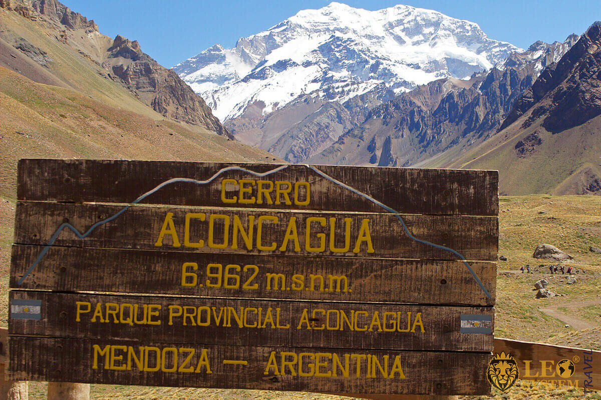 Aconcagua - The highest mountain of Argentina