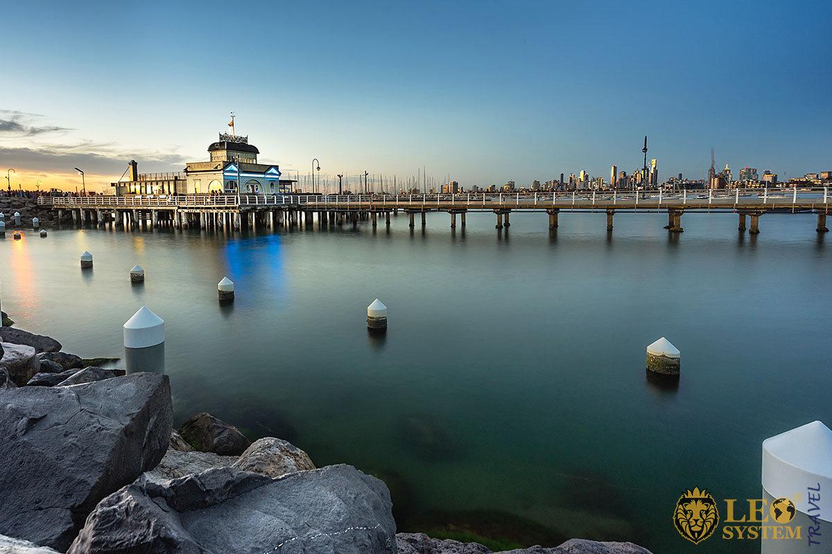 Picture of St Kilda Pier, Melbourne, Australia