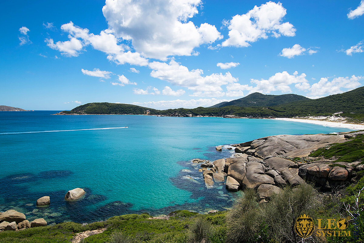 Gorgeous view of Wilsons Promontory National Park, Melbourne, Australia