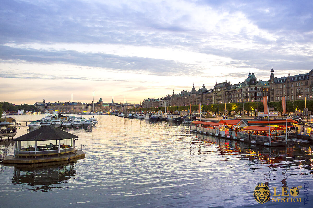 Djurgarden - small island located in the heart of the Stockholm
