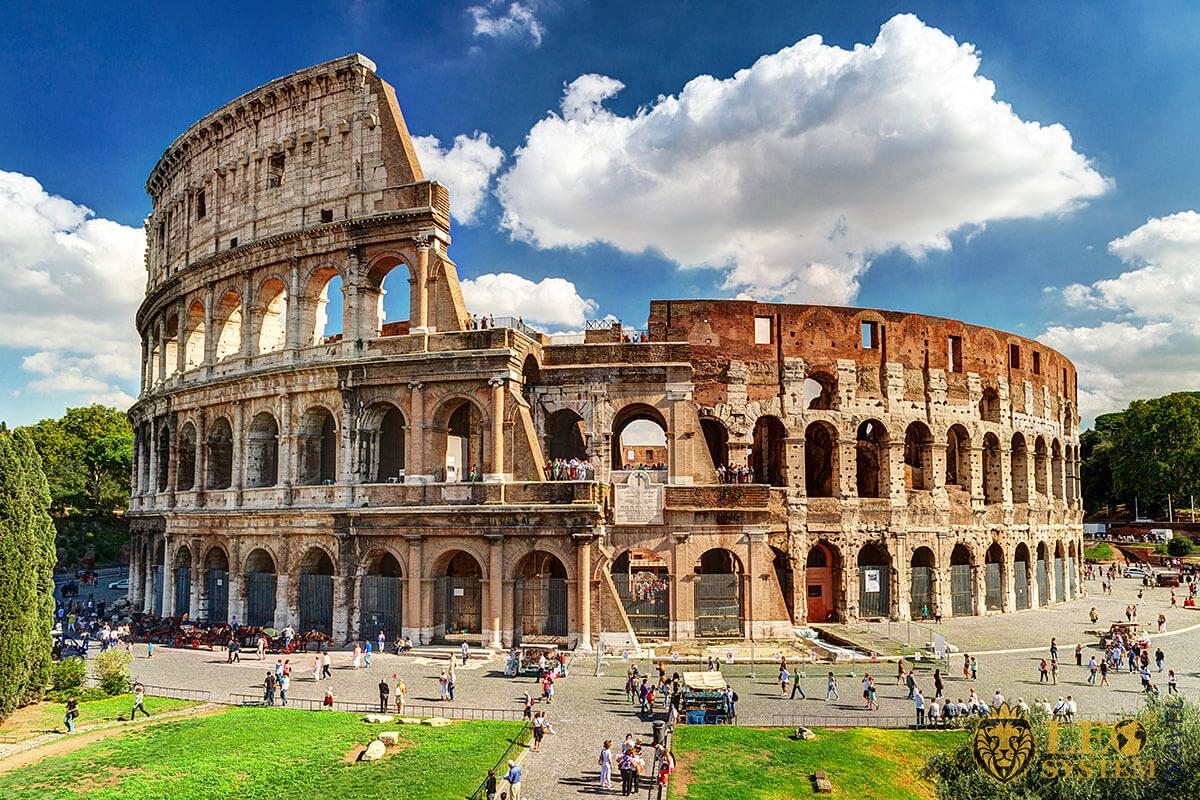 Historic building in Rome - Colosseum