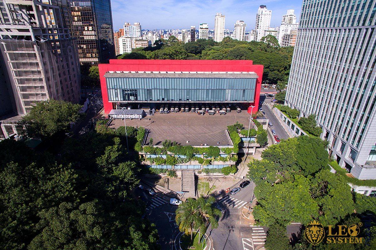 Sao Paulo Art Museum Paulista Avenue