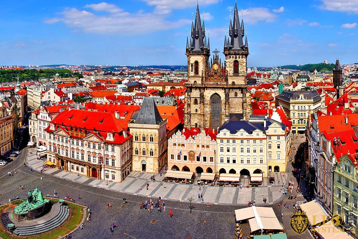 Old Town Square - is destinations to see in Prague