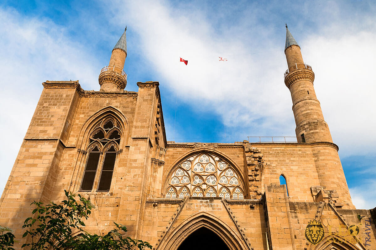 Selimiye Mosque - important tourist attraction in Nicosia, Cyprus