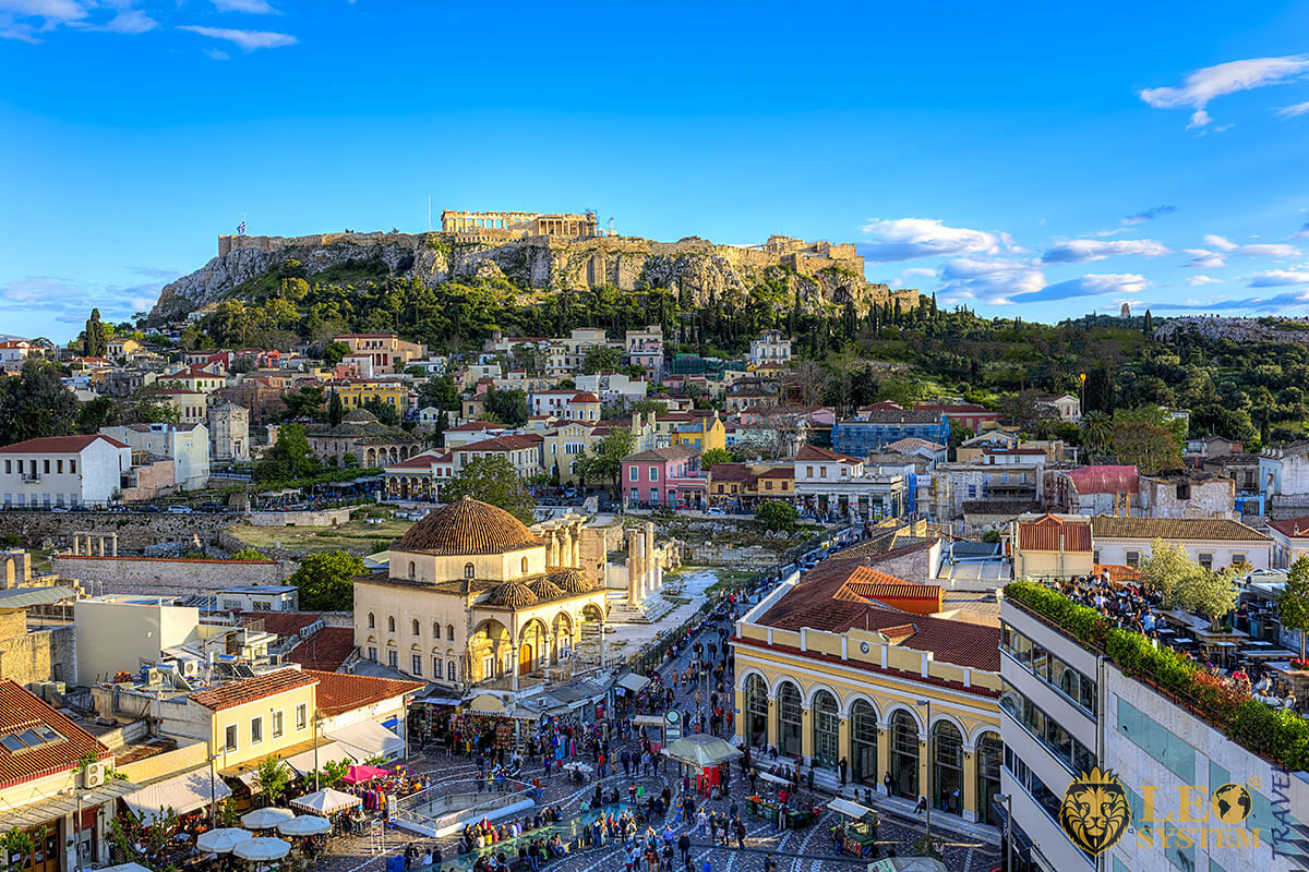 Image of Acropolis in Athens, Greece