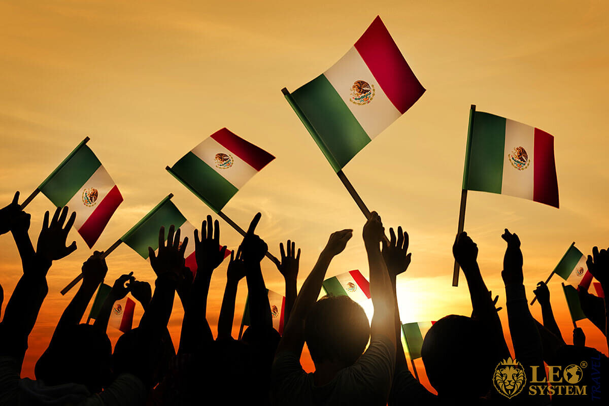 Mexico Independence Day - National Flags