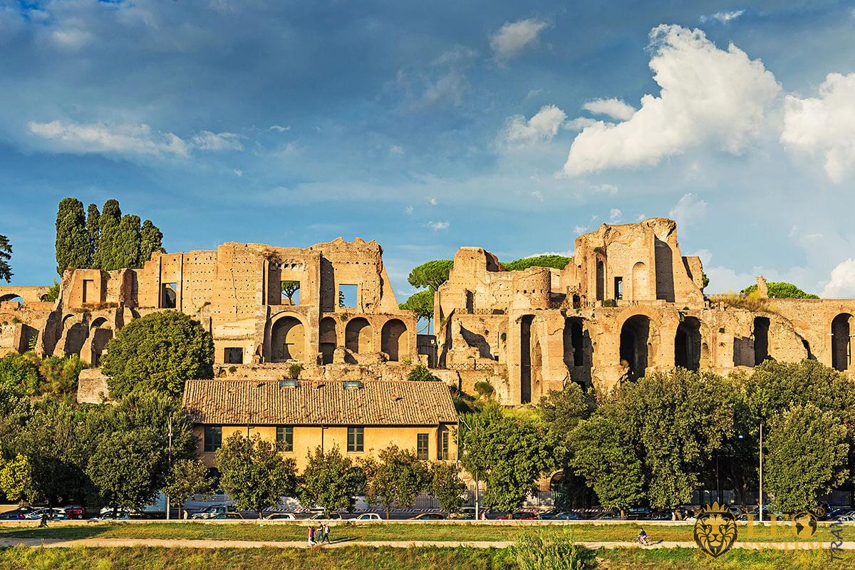 Famous building in Rome - Circus Maximus