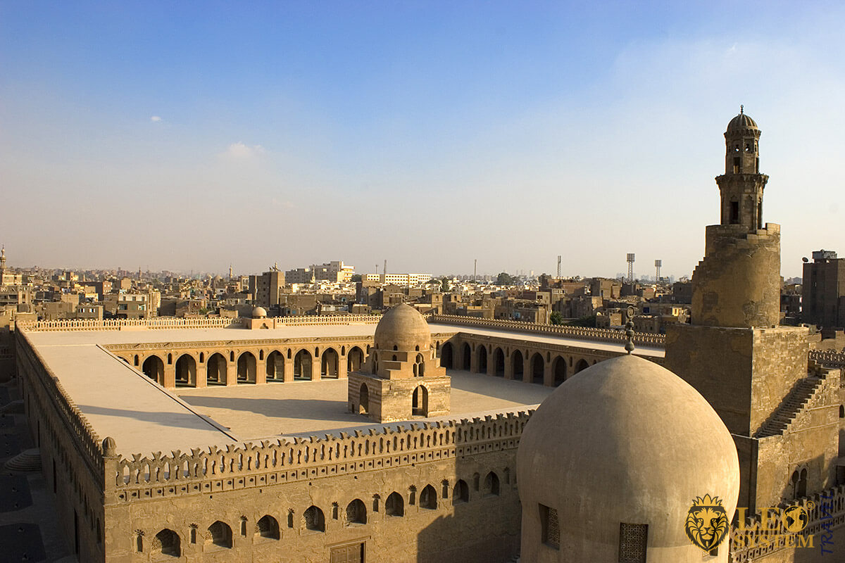 Mosque of Ibn Tulun - famous landmark in Cairo, Egypt