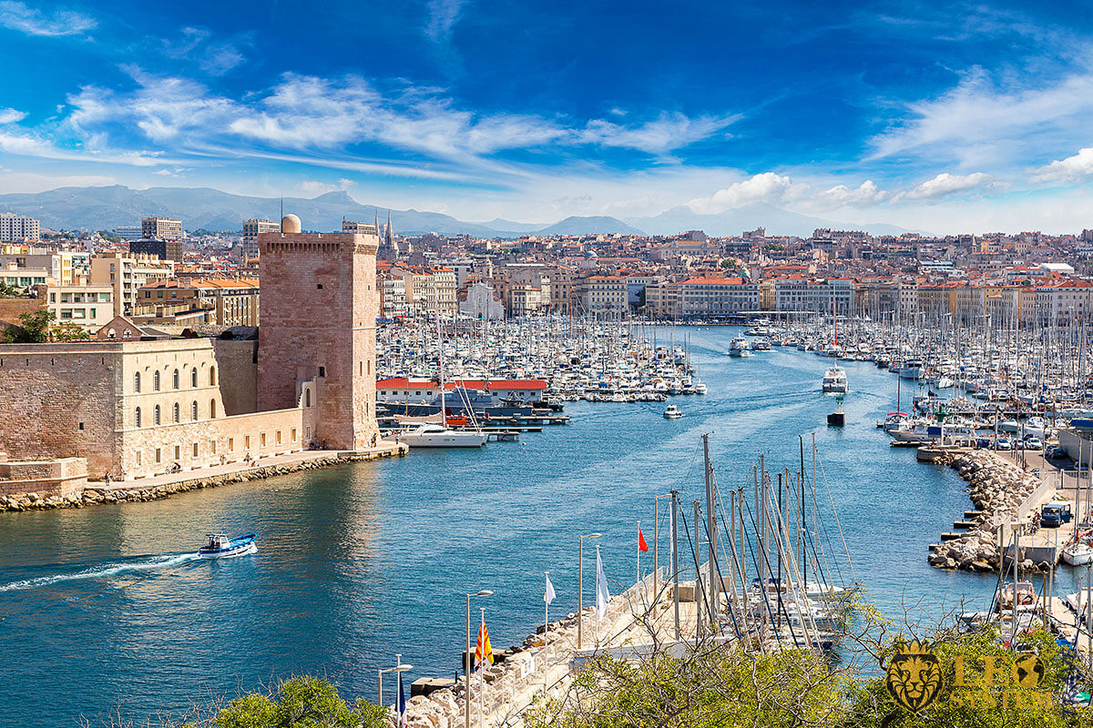 History of the Founding of Marseille, France
