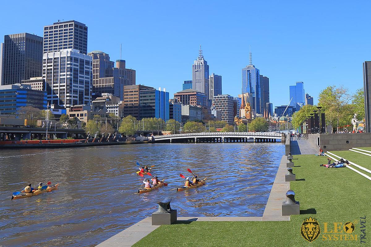 Melbourne Kayak Tour, Australia