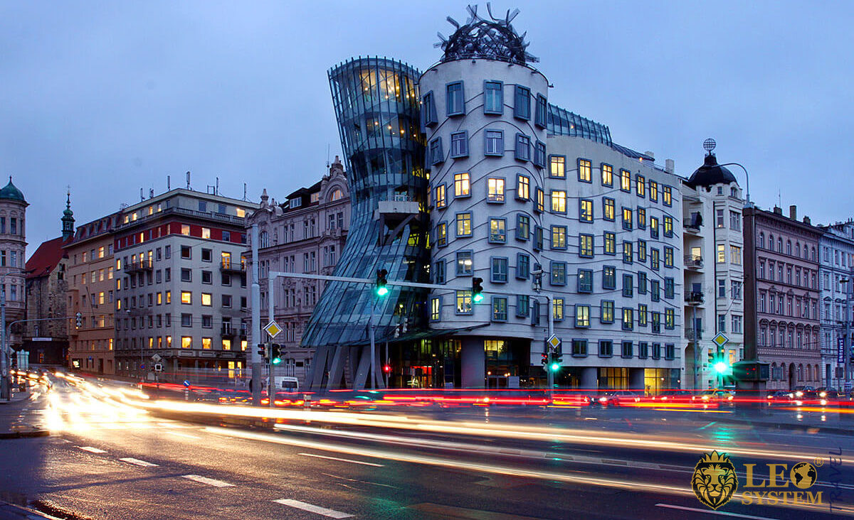 Dancing house - One of the most beautiful places in Europe