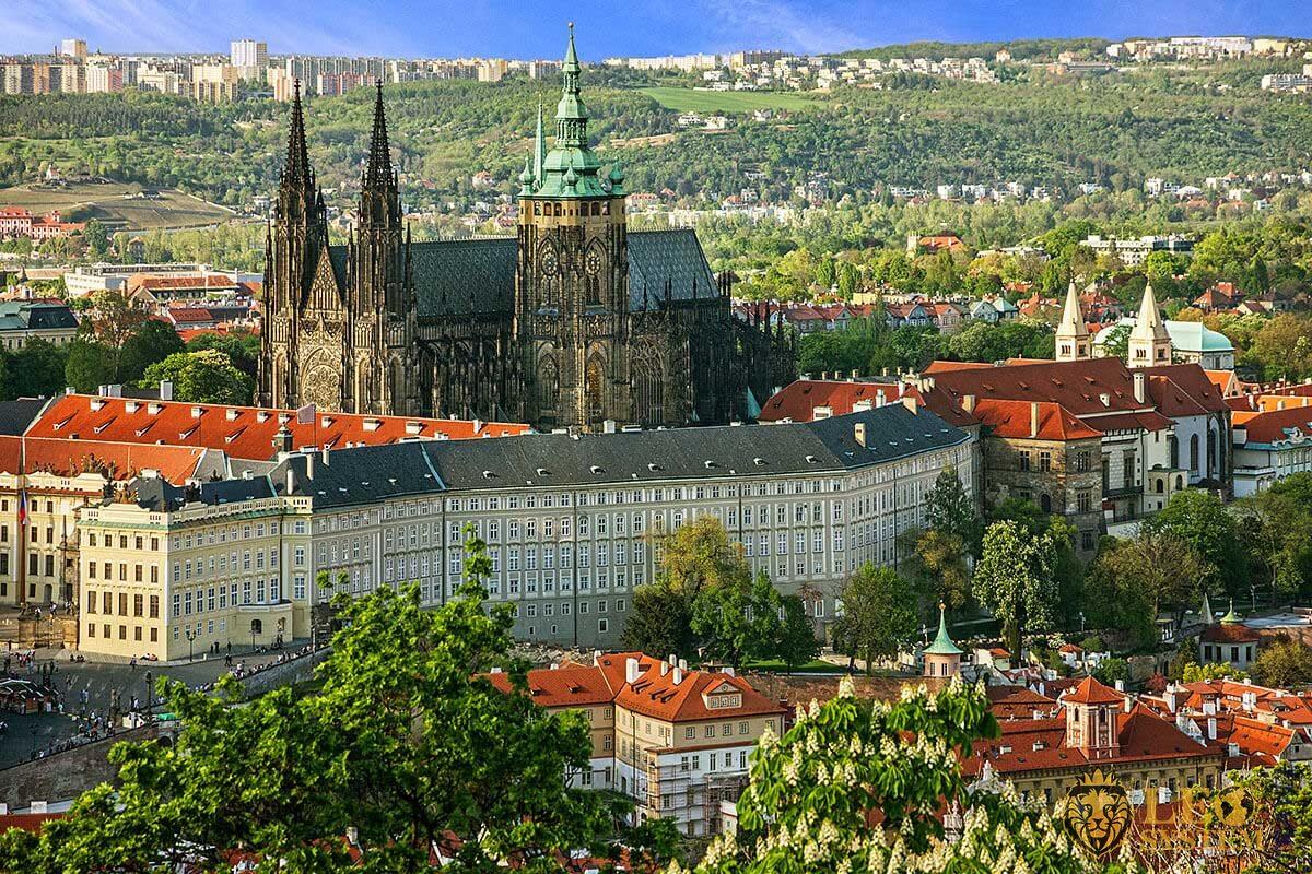 Prague Castle - A famous historical landmark in Prague