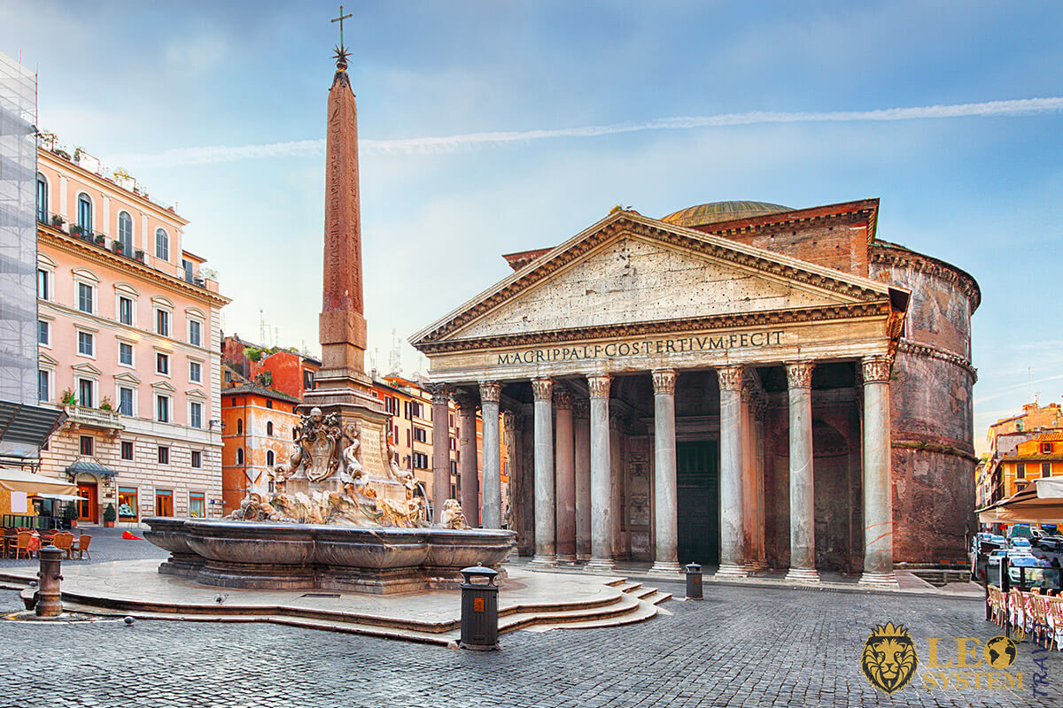 Image of Rome attractions Roman temple - Pantheon