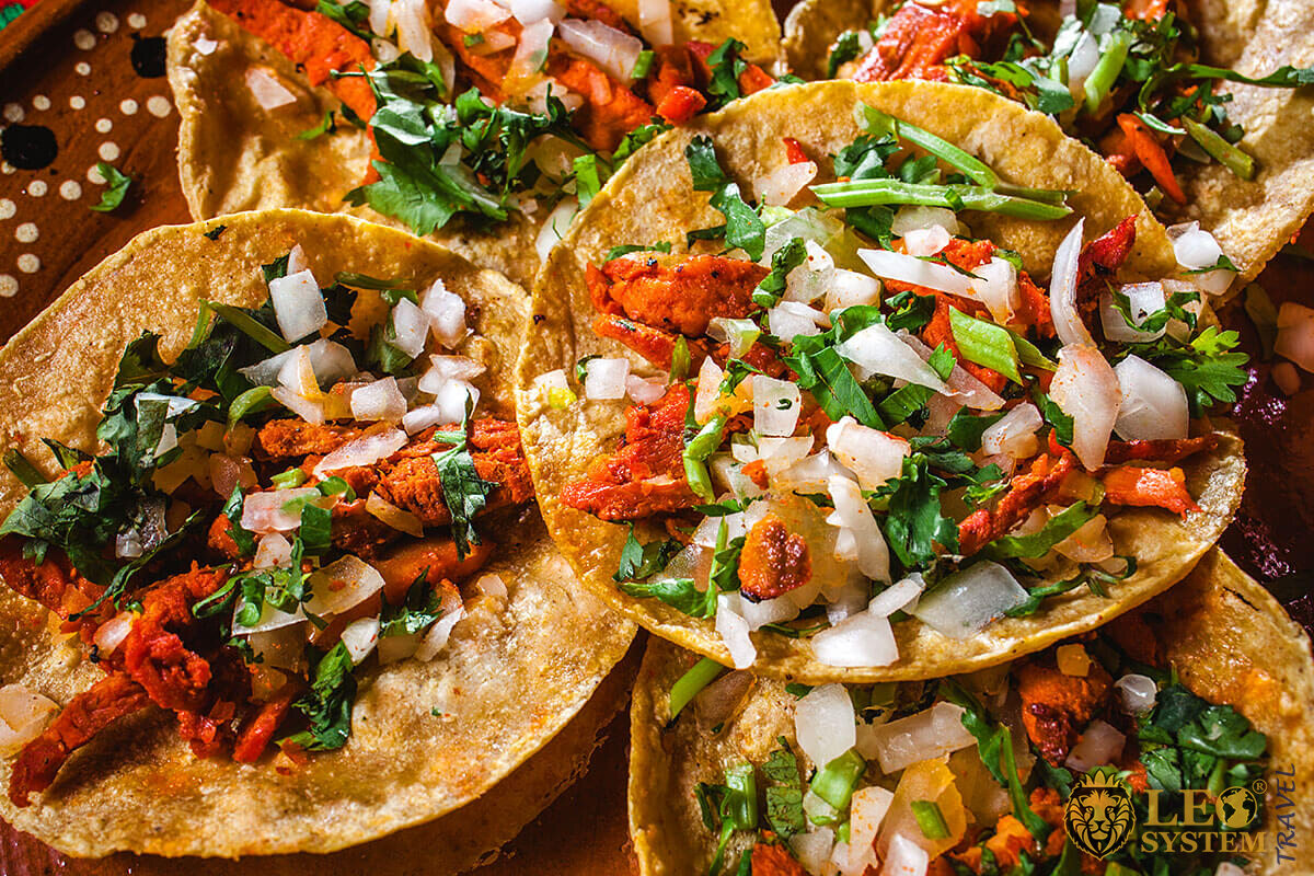 The food at ceremonial Occasions in Mexico City