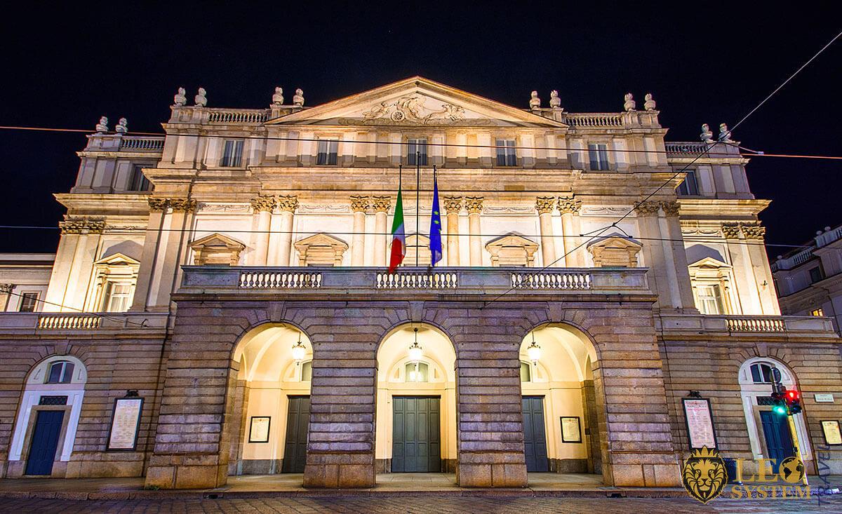 Image of Opera at Teatro Alla Scala