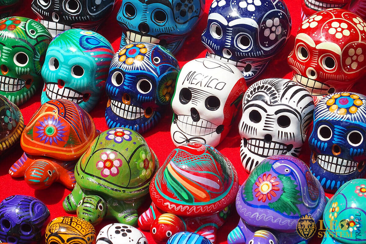 Day of the Dead is a traditional festival in Mexico