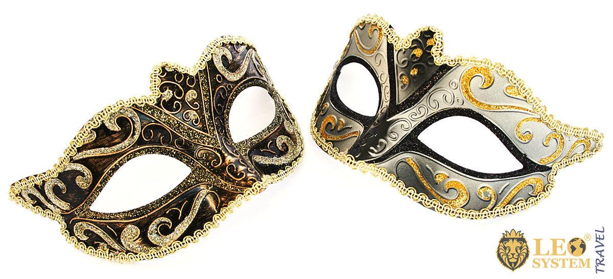 Image of carnival masks