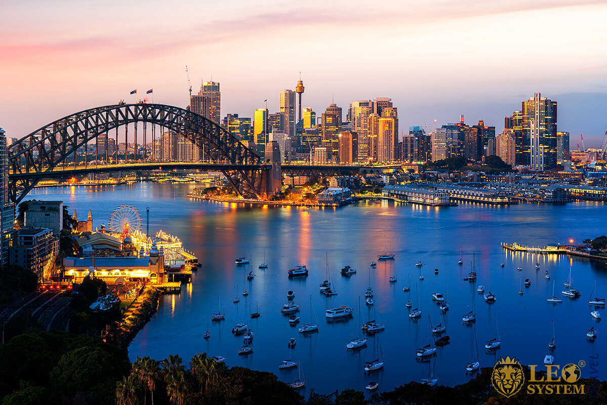 World famous attraction - Sydney Harbour, Australia