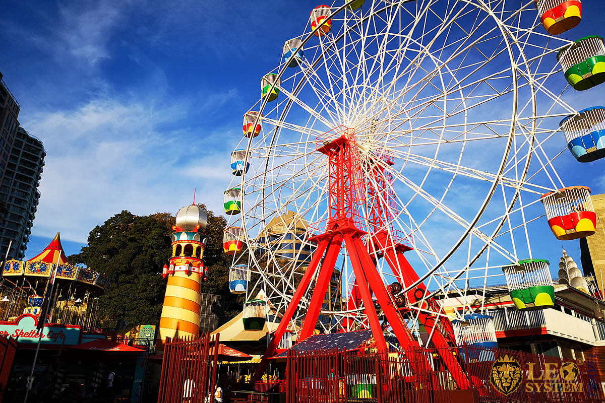 Luna Park - Amusement park in Sydney
