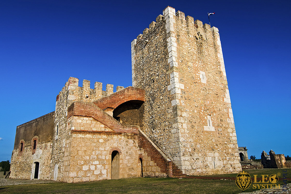 Image of the first fortress built in America - Ozama Fortress