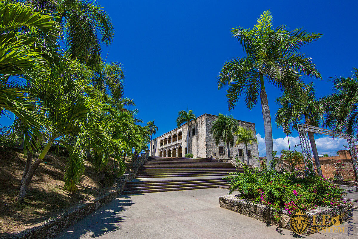 Image of panoramic view in Santo Domingo, Dominican Republic