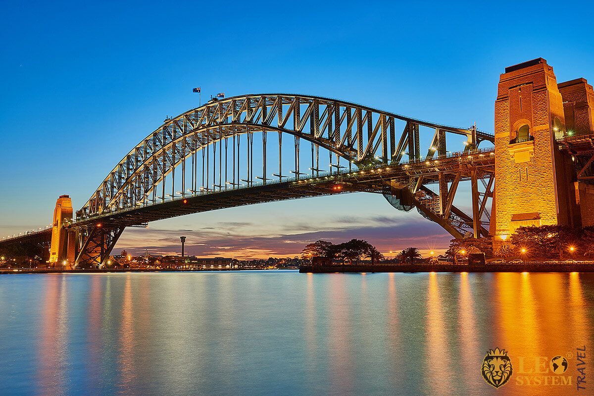 Image of Sydney Harbour Bridge - Australia Attractions