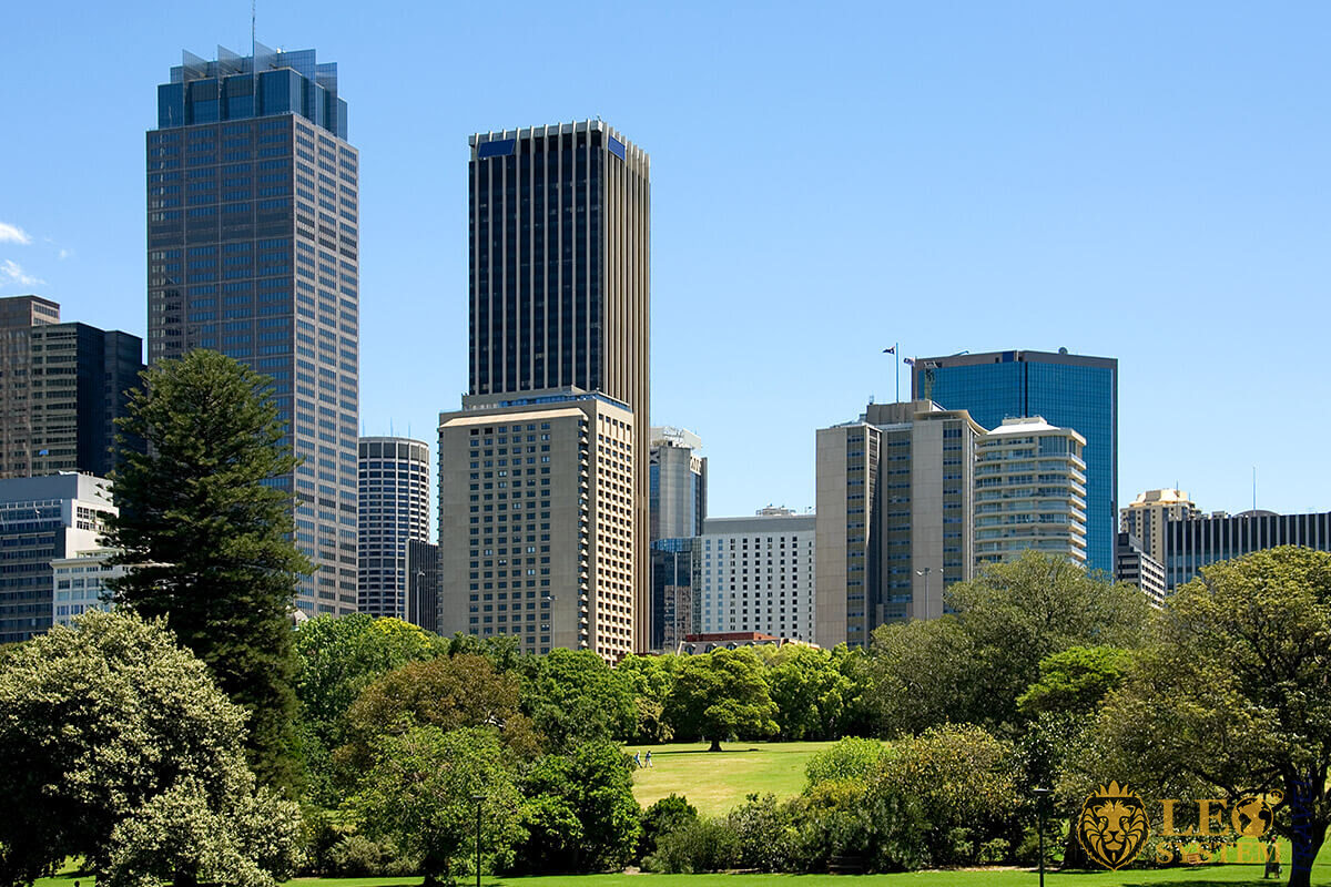 Hyde Park - park in the central business district of Sydney