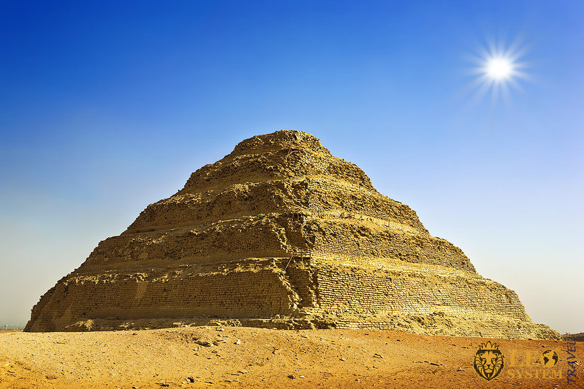 Image of the Pyramid of Djoser