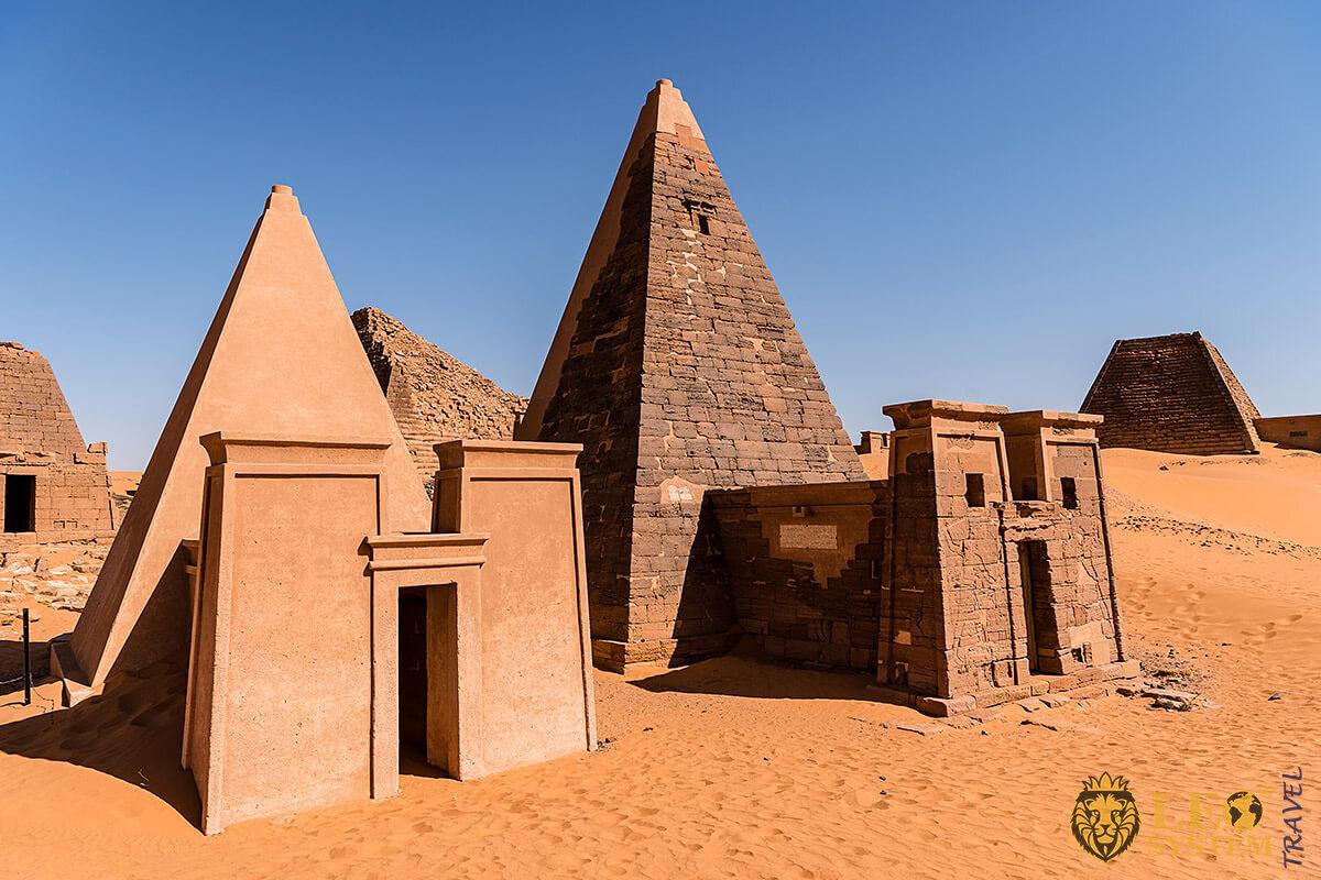 Image of Nubian Pyramids