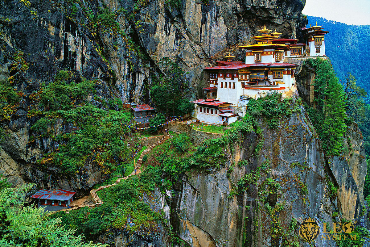Image of the amazing place of the Tiger's Nest, Bhutan