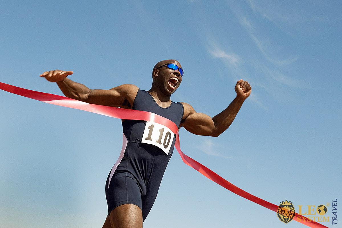Image of an African runner
