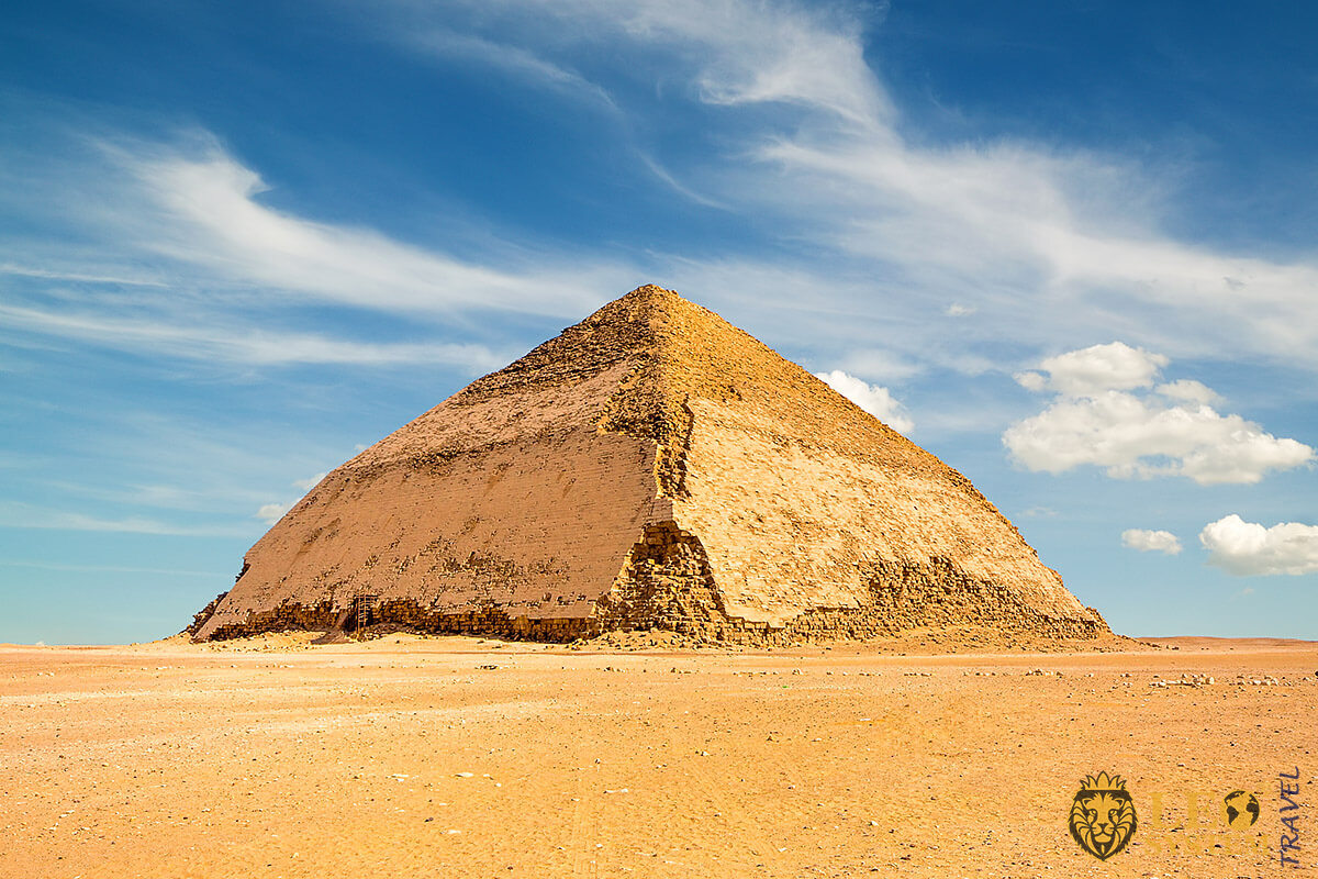 View of the Bent Pyramid