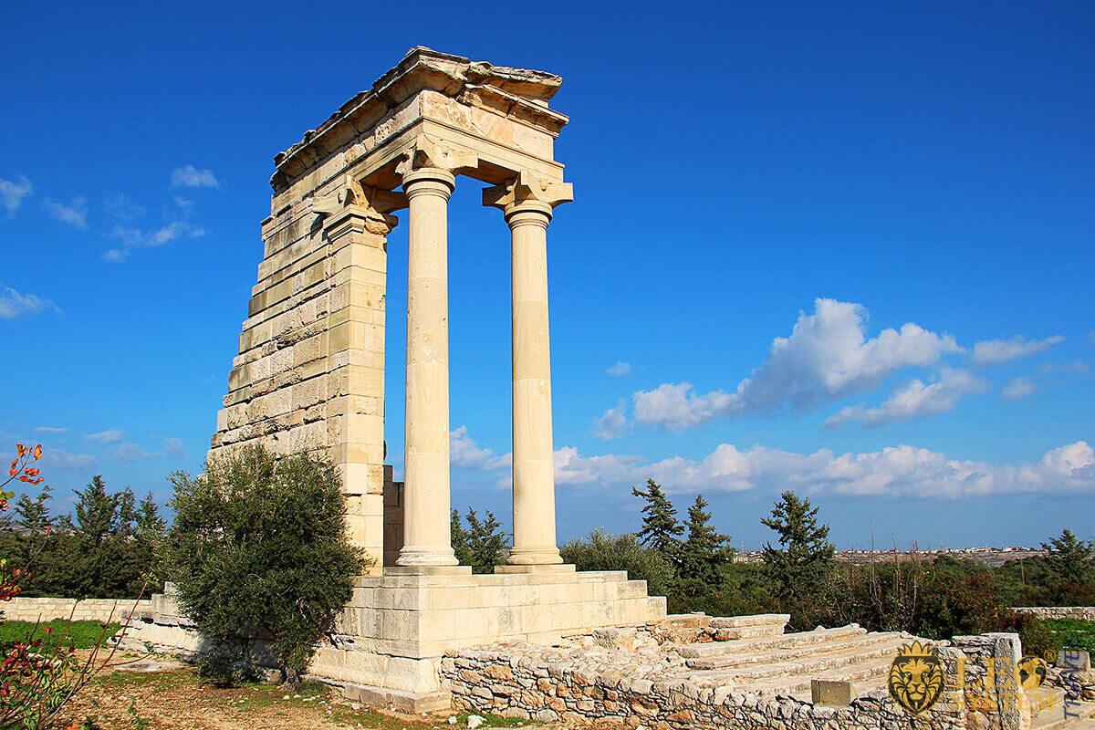 Temple of Apollo Hylates, Kourion, Limassol, Cyprus