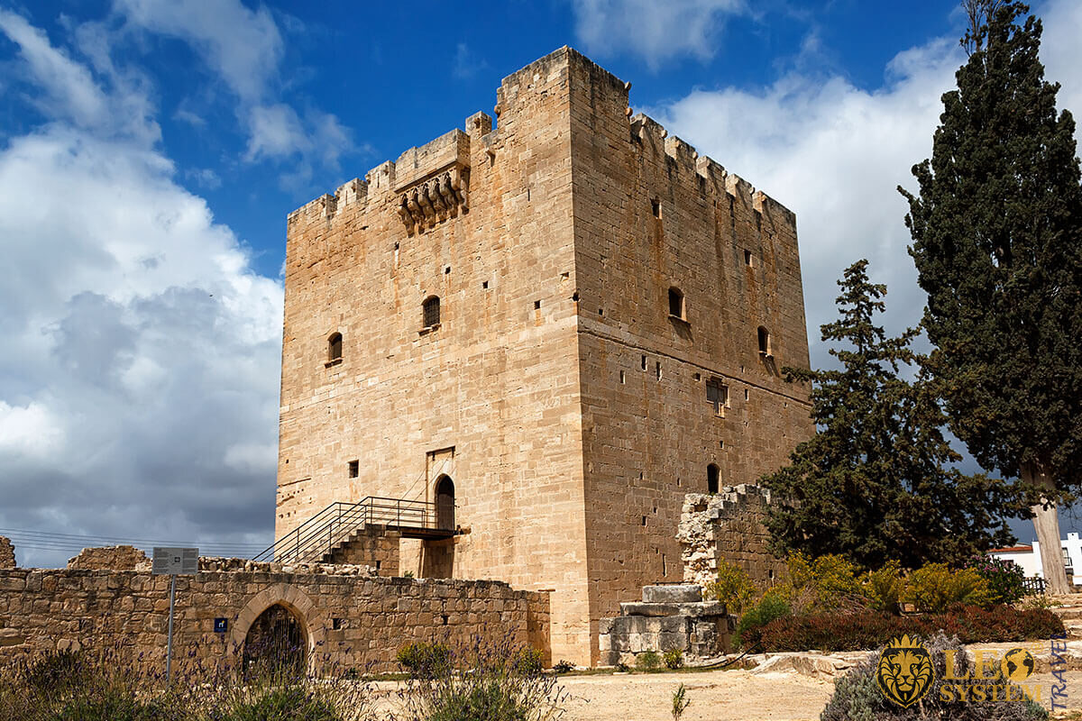 Kolossi Castle - interesting sight in Limassol, Cyprus