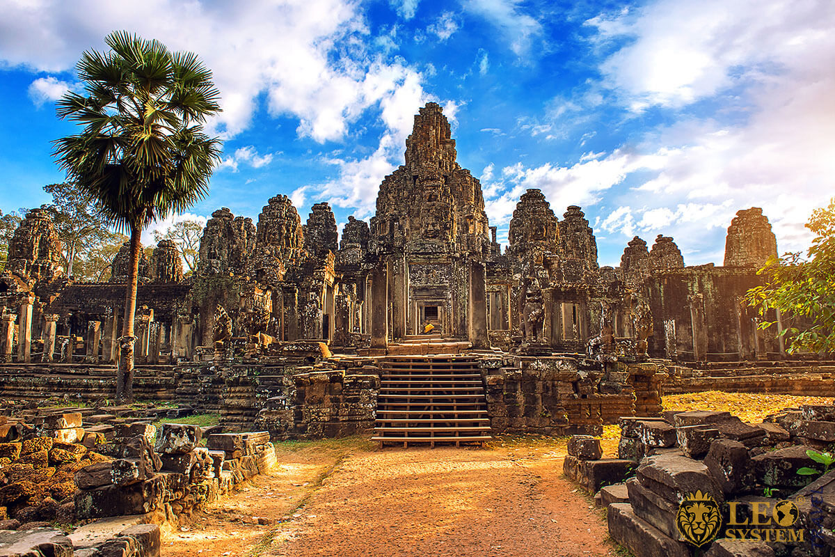 Angkor Thom is the biggest of all Angkor temples
