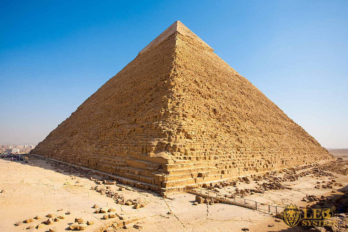 Image of the Pyramid of Khafre