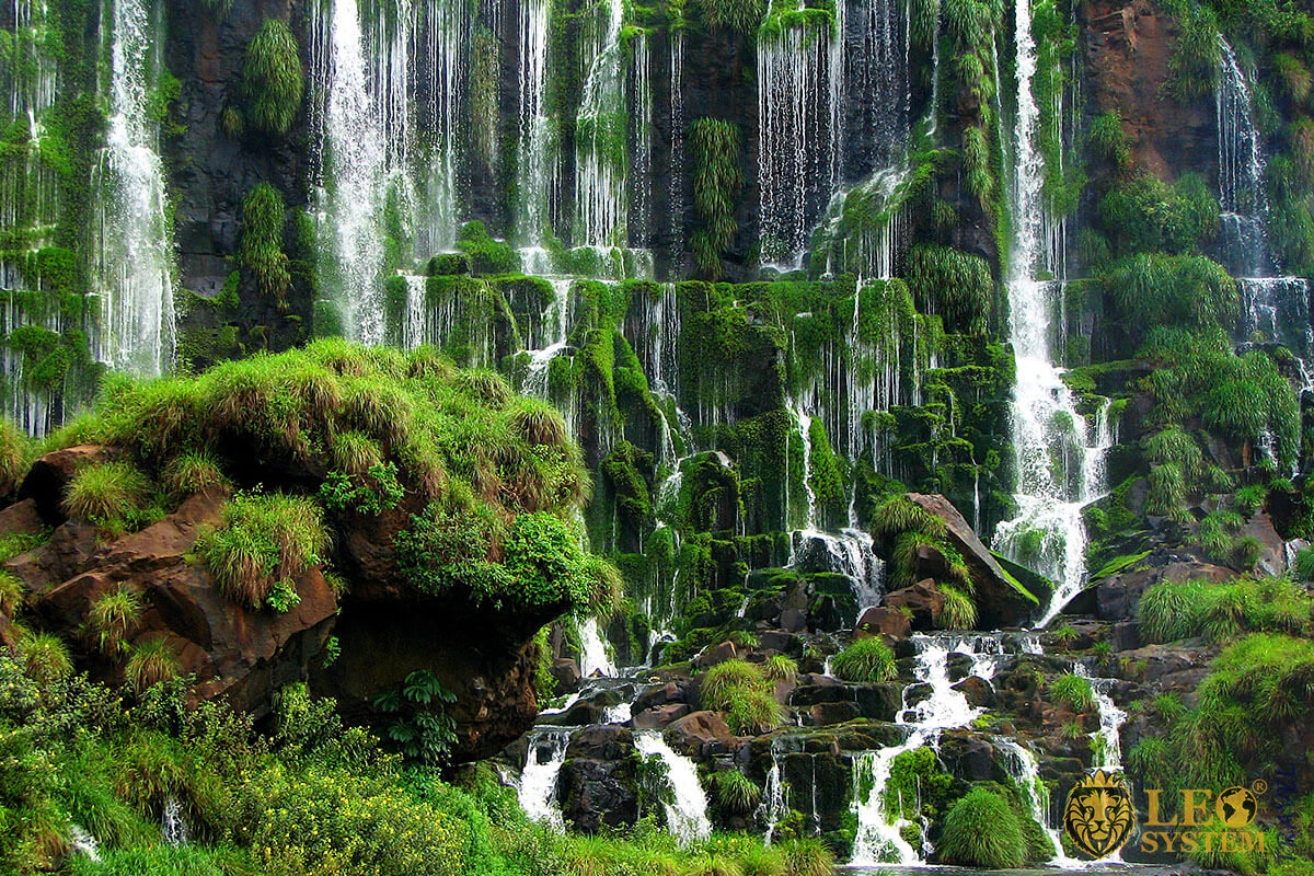 Image of an excellent waterfall in Brazil