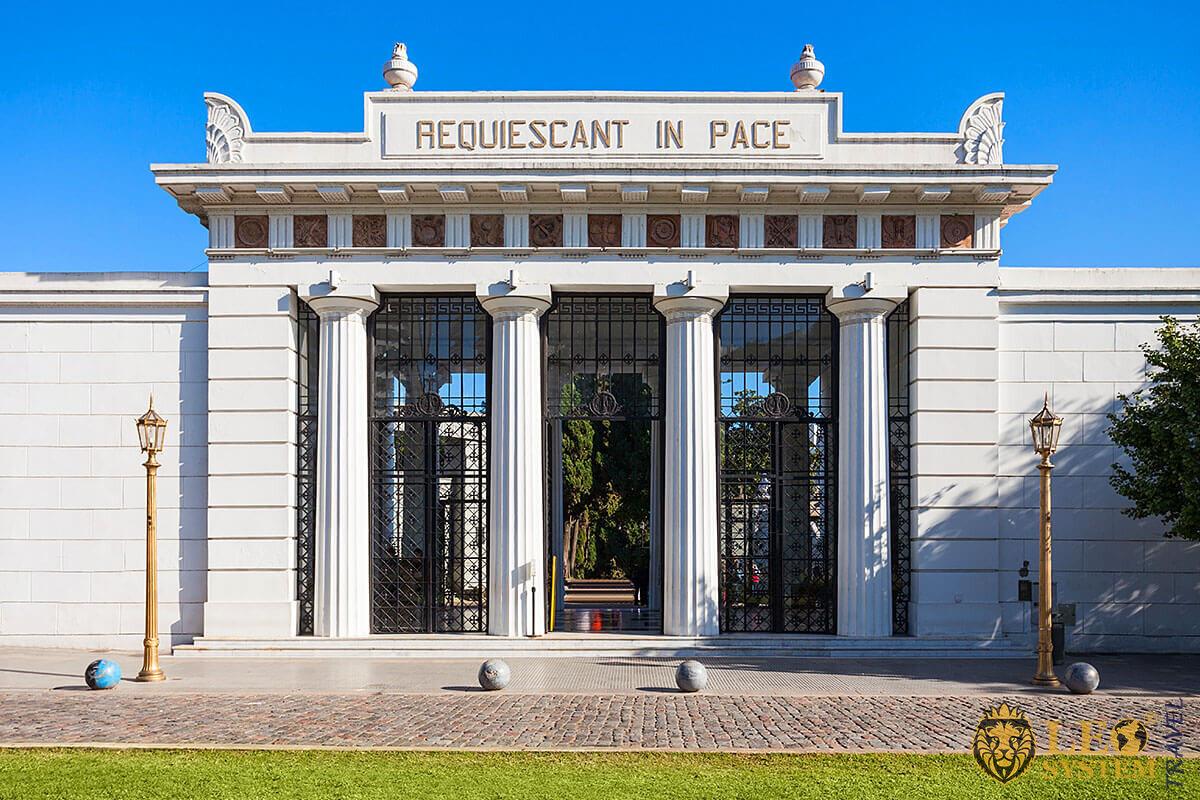 Image of La Recoleta Cemetery, Buenos Aires