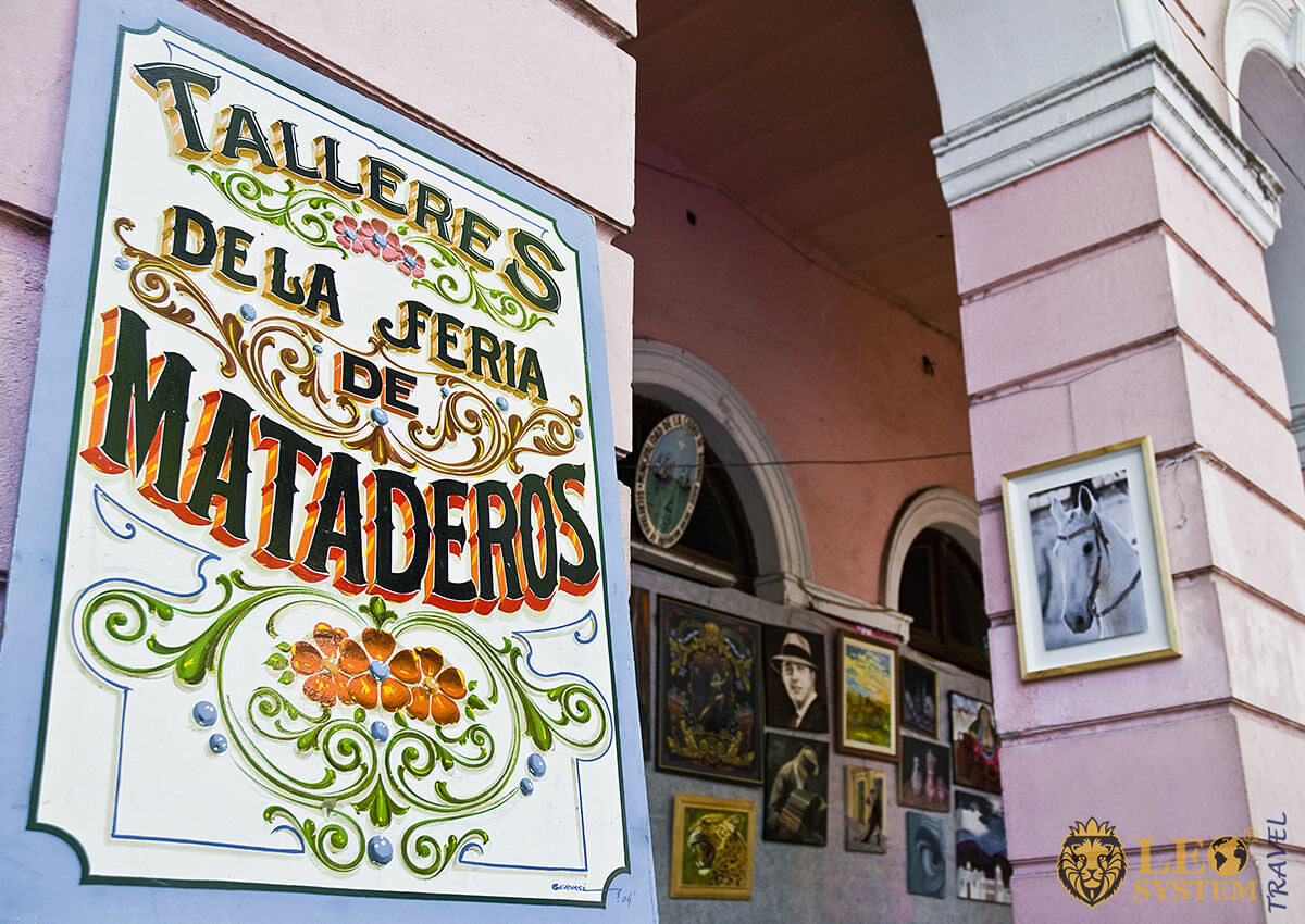 Fair of the Mataderos - event sign, Buenos Aires
