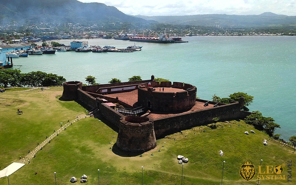 View of La Fortaleza de San Felipe, Puerto Plata, Dominican Republic