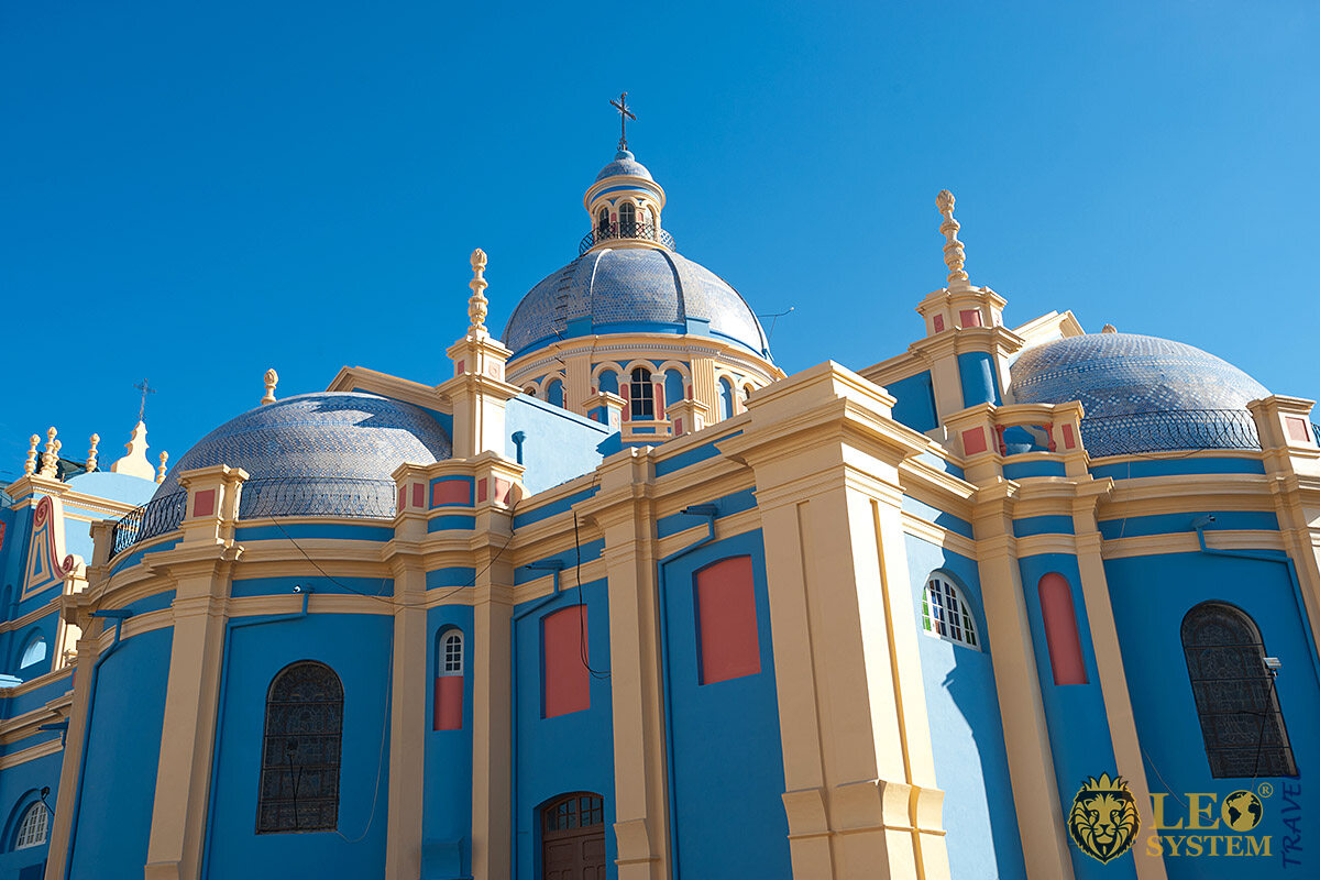 Image of church domes, Salta, Argentina